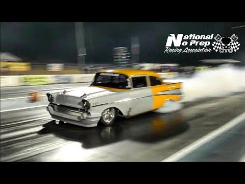 Jeff Lutz vs Street Beast Doc grudge match at Tucson Street Outlaws no prep