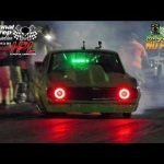 Lizzard vs Procharged Camaro at the dirty south no prep