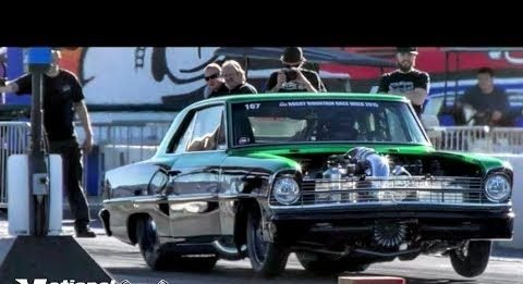 Matthew Frost's Procharged Nova close call at Tucson Street Outlaws No prep