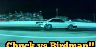 Street Outlaws Chuck vs Birdman at Redemption 13 no prep