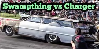 Swampthing vs Dodge Nitrous Charger at Outlaw Armageddon
