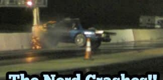 The Nerd Crashes at Armageddon!!