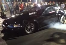 Boost12 vs The Megg nitrous Camaro at the Memphis Street Outlaws No Prep