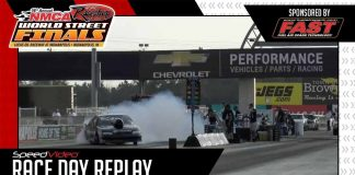 Crazy Top Sportsman Burnout At The 2017 NMCA World Street Finals