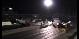 DADDY DAVE -vs- Wheelstanding Chevy ll - Outlaw Armageddon