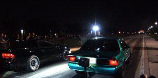 FRESH Street Racing ACTION - Drama, Sprinklers, Cops