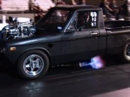 INSANE Blown Chevy LUV Goes KABOOM