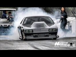 Kye Kelley Shocker on small tires vs Kenjo Kelley's turbo fox at small tire legends