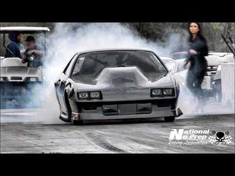 Kye Kelley Shocker on small tires vs Kenjo Kelley's turbo fox at small tire legends