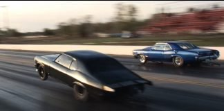 MURDER NOVA (Street Outlaws) vs The Goat - INSANE Triple Wheelie!