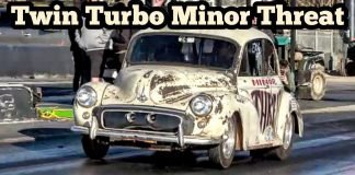 Minor Threat Twin Turbo Rat Rod & TNT at Thunder Valley
