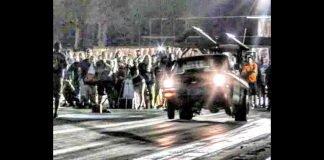 Nitrous Truck vs Nova at Ozark no prep meltdown