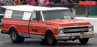 Old Trucks Drag Racing