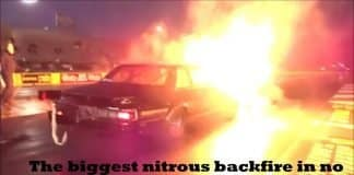 Quite possibly the biggest nitrous backfire in no prep at Redemption 10.0!!!!