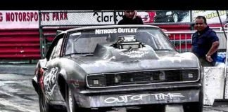 Reaper SS scary fast hit at Edinburg Street Outlaws No Prep