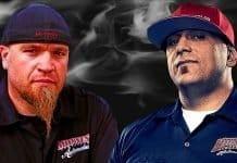Street Outlaws Big Chief and Murder Nova Drag Racing at Outlaw Armageddon 3.0