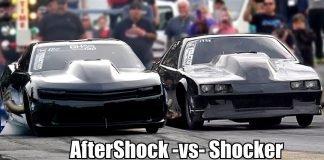 Street Outlaws Kye Kelley vs Lizzy Musi (Grudge Racing in No Prep Kings Tucson)
