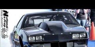 The Luv vs Twin Turbo Camaro at No Prep Mayhem