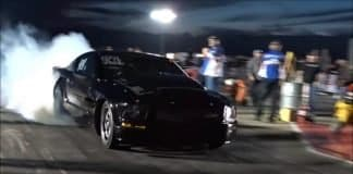 The Red Wagon vs Paul Brogdon n2o Mustang at Bounty Hunters II