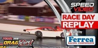 Tyler Jenkins Camaro Wreck Pro Nitrous -PDRA Drag Wars 2018