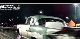 Unicorn Nitrous Chevy vs Fireball Camaro at Edinburg Street Outlaws No Prep