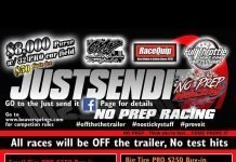 JustSendIt No Prep Racing