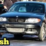 BMW Solid Run and Crash at Thunder Valley Oklahoma