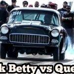 Black Betty Nitrous Chevy vs Quevo at Bounty Hunters No Prep