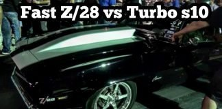 Camaro Z/28 vs Turbo s10 at EMP's No mans land