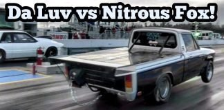 Da Luv Nitrous Truck vs Nitrous Fox Battle at Reapers Out of Time No Prep Series