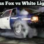 Nitrous Mustang vs White Lightning at Emp Top End Battle