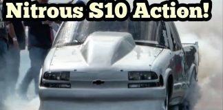 Nitrous s10 vs Black Dust Nitrous Camaro vs Dittmer Nitrous Luv