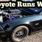 Turbo Coyote Mustang Runs Wild to the Field at Top End Race