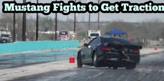 Turbo Mustang fights to Get Traction at Bounty Hunters No Prep