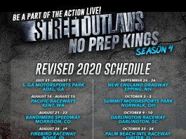 NO PREP RACING NPK 2020 SCHEDULE