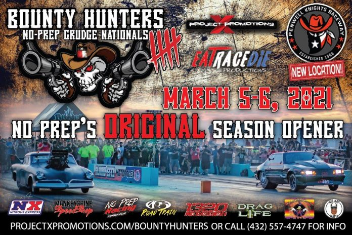 Bounty Hunters 5 No-Prep-Racing